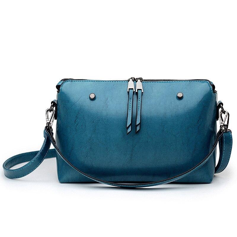 Новый Винтаж тенденция Для женщин масло, воск, кожа ретро тиснением Повседневное Бизнес Портфели Crossbody Travel сумки на плечо