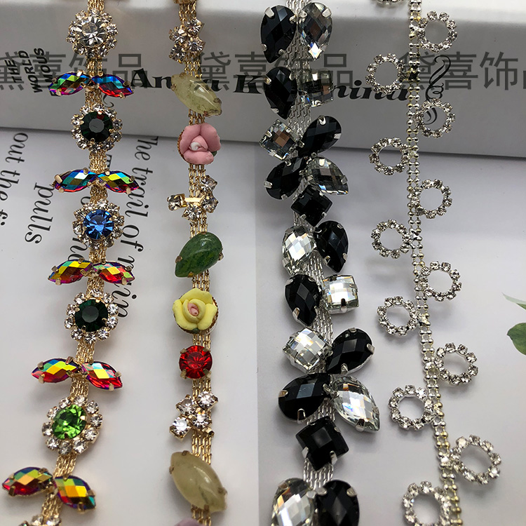 Buy 50cm gembling rhinestone sticker for Decor international wholesale