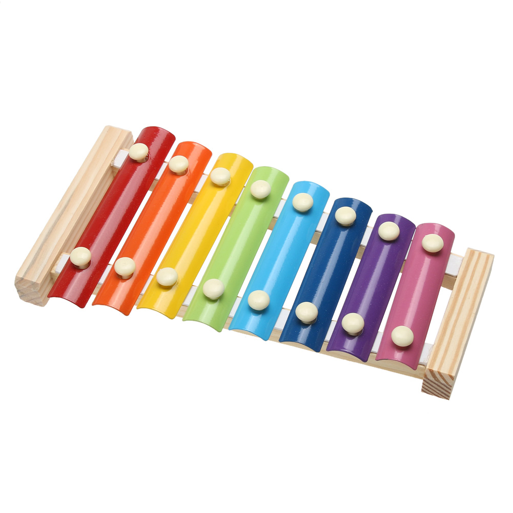 Kids Wooden Musical Toys Teaching Child Early Educational Wisdom Development