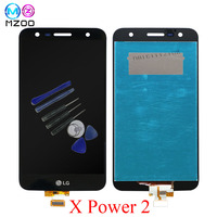 5.5'' Full LCD Display For LG X Power 2 M320 Touch Screen Digitizer Assembly With Frame M320G M320F M320N LCD Monitor Replace
