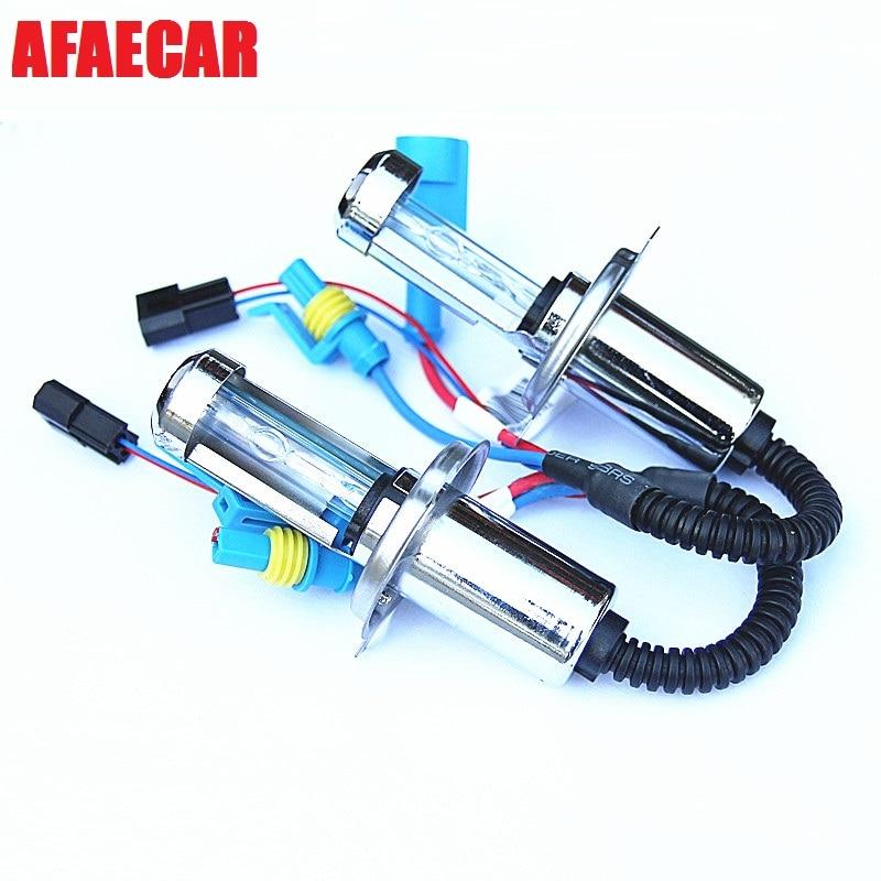 AFAECAR AC 12 V 35 w mini H4-3 lumineux rapide Hi/Lo hid lampe au xénon pour phare de voiture
