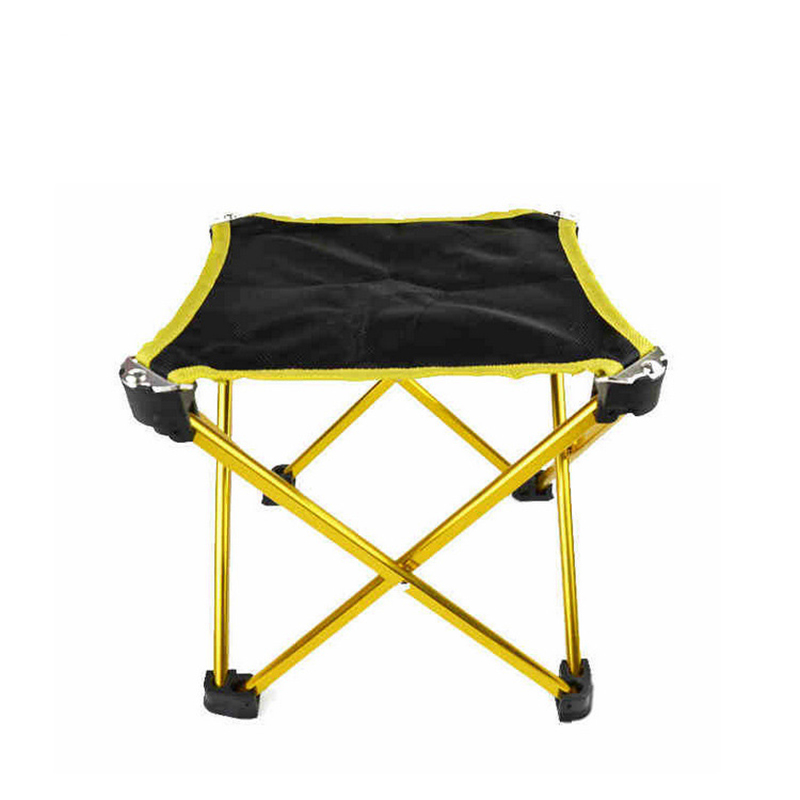 Lightweight Outdoor Aluminium Alloy Camping Foldable Chair Folding Fishing Picnic BBQ Garden Chair Seat Outdoor Tools Stool folding outdoor camping hiking fishing picnic garden bbq stool tripod chair seat cloth chair