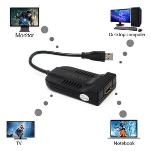 Image 5 - Adaptador de cabo de vídeo usb 3.0 para hdmi, hd 1080p, conversor para pc, laptop