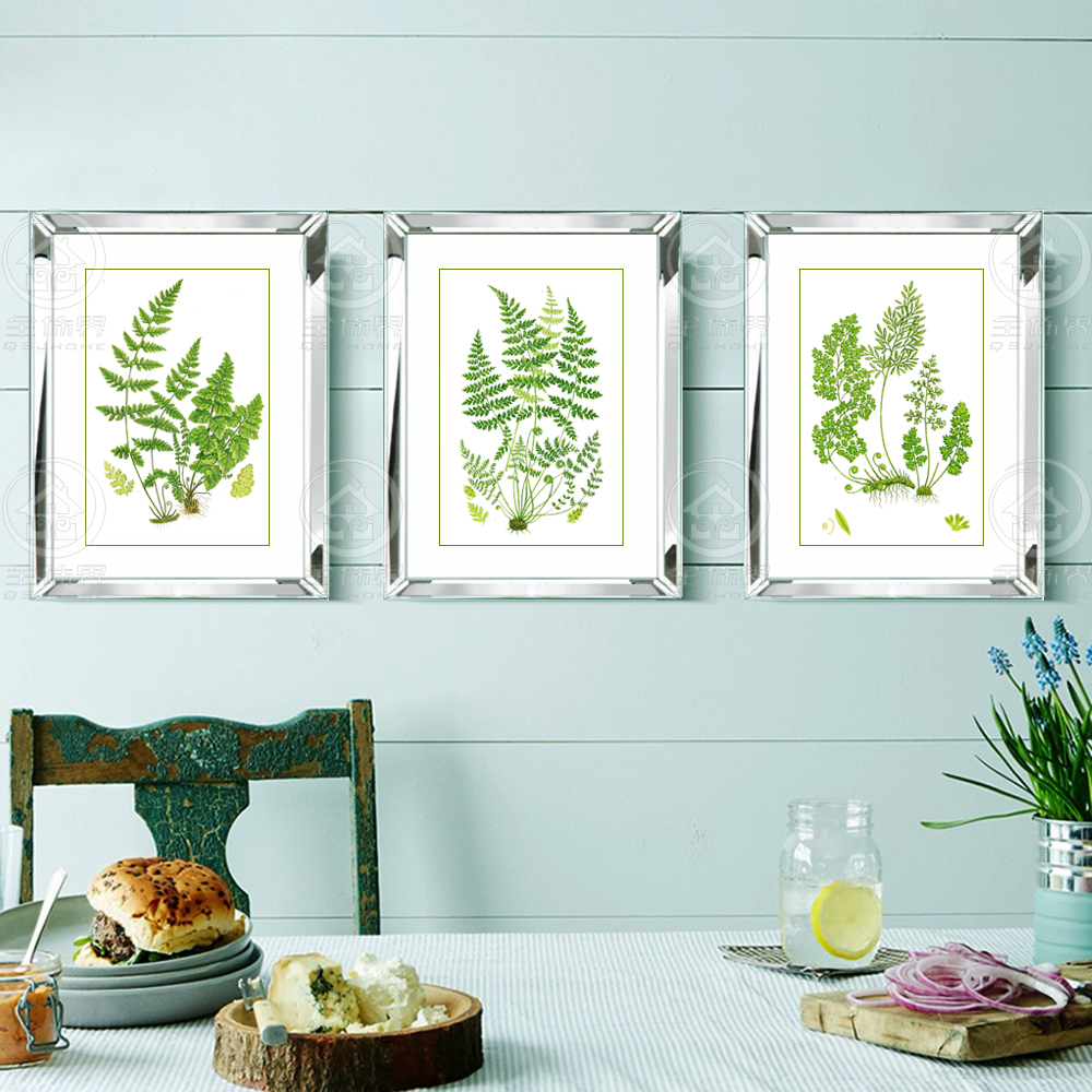 Aliexpress Buy Fashion Mirrored Wall Frames Modern Combinative