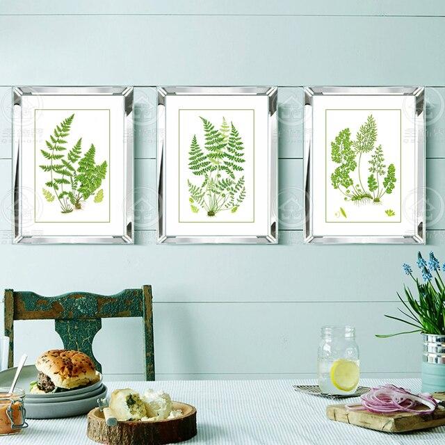 Moda Espelhado Quadros De Parede Combinatória Modern Foto Quadros  Decorativos De Parede Pintura Mural Da Parede