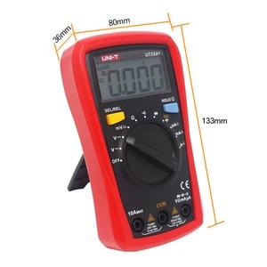 Image 5 - UNI T Digitale Multimeter UT33A + Auto Range Spanning Weerstand Meten LCD AC DC + 2mF Capaciteit NCV Tester Backlight