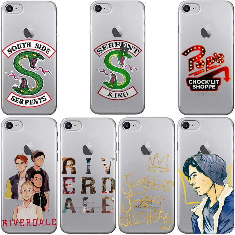 American Hot TV Riverdale Pintado South Side Serpents Matte transparent Hard Case for iphone 11 11Pro 11ProMax X XR XS Max 8 8Plus 7 7Plus 6s 6Plus