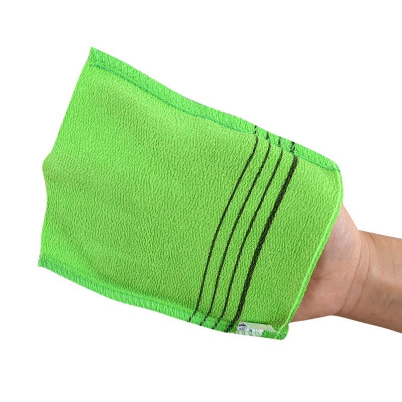 Korean Italy Body Scrub Towel Glove 3Pcs Shower Bath Massage Sephar Quickly Dry