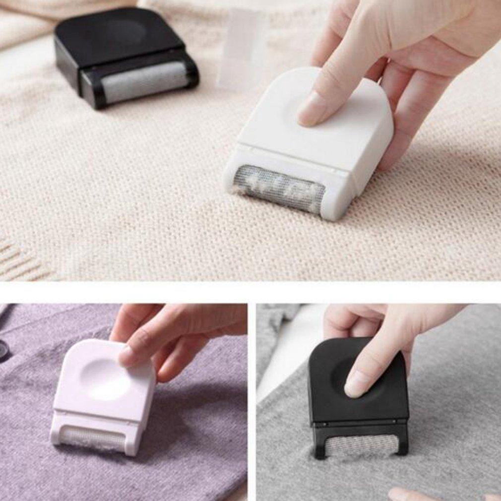 1pc Mini Size Handheld Lint Clothes Sweater Shaver Fluff Fuzz Fabrics Portable Remover Pill Handheld Dust Lint Remover in Lint Removers from Home Appliances