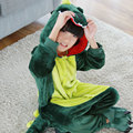 Boys Girls Pyjamas Dinosaur Animal Children Sleepwear Hulk Pajamas Onesies for Kids Pijamas Long Sleeve Nightgown 2Colors