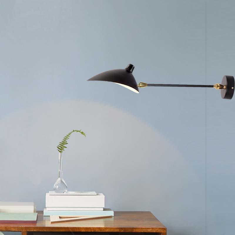 Applique nordique Simple grenier longue applique murale créative étude lampe personnalité canard Bill lumière moderne classiques salon lampes
