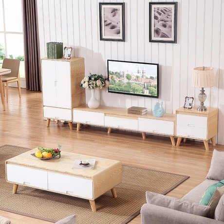 комплект для гостиной мебель для дома деревянная панель журнальные столы подставки для телевизора 2 шт комплекты шкафов для гостиной