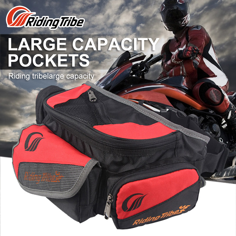 PRO-BIKER Motorycle Waist Bag Back Pack Oil Tank Bag Offroad Racing Saddle Bag Bike Riding Scooter Motocicleta Travel Luggage
