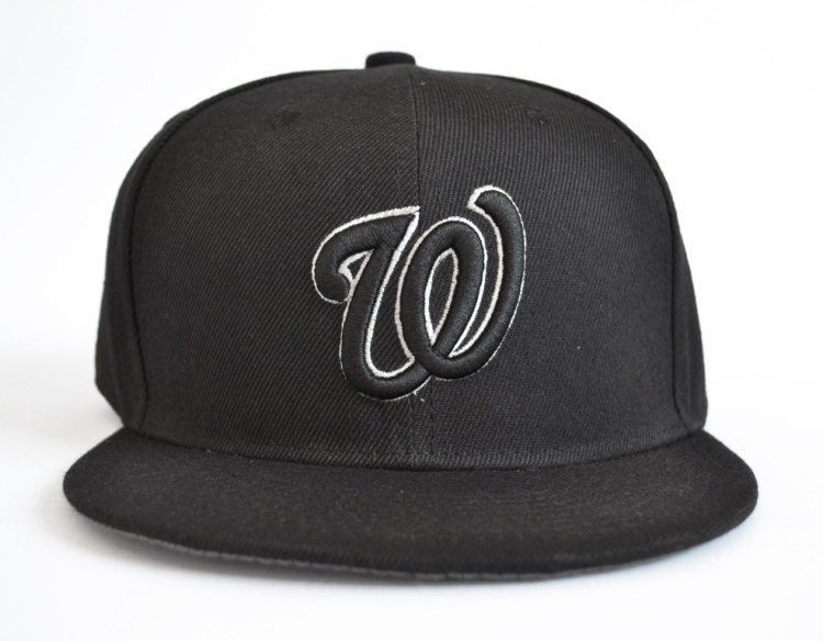Washington Nationals baseball hat snapback snap bakcs adjustable adult head  round 56cm to 62cm black w-in Baseball Caps from Apparel Accessories on ... e5c2eee20c9