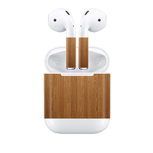 free drop transport Luxurious Real Full Pores and skin Sticker for Apple Airpods Excessive High quality Decal Sturdy Protector