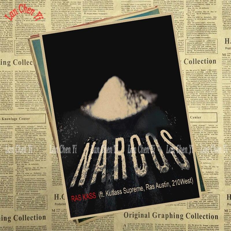 Теледидар ойнау Narcos Season Matte Kraft Paper - Үйдің декоры - фото 5