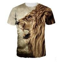 2016 Popular Men S T Shirt Casual T Shirt Plus Size Men Women Tees Tops Animal