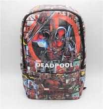 anime Backpack Deadpool bag Marvel Comics Backpack shoulder computer school Book Bag