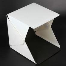 NEW Portable Folding Lightbox Photography Studio Softbox LED Light Soft Box for iPhone Samsang HTC DSLR