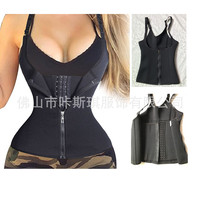 Neoprene Zipper Vest Ultra Time! Sports Fitness Exercise Extreme Sweat Lady Of Corsets