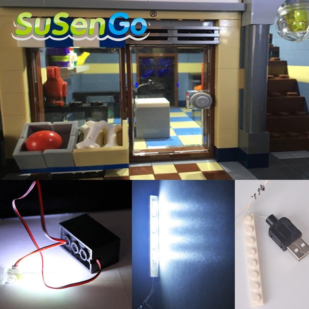 SuSenGo світлодіодний світло комплект - Конструктори та будівельні іграшки
