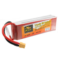 ZOP Power 14 8V 5000mAh 4S 60C Lipo Battery Rechargeable XT60 Plug Connector For RC Quadcopter