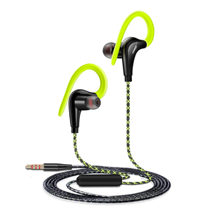 Image 5 - Sports Earphones Waterproof Sport Running Headphones With Mic Ear Hooks Bass Headsets for Mobile iPhone Xiaomi Music Headsets