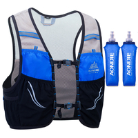 AONIJIE Men Women Trail Running Backpack 2.5L Lightweight Hiking Racing Cycling Marathon Hydration Vest Rucksack Optional Bottle