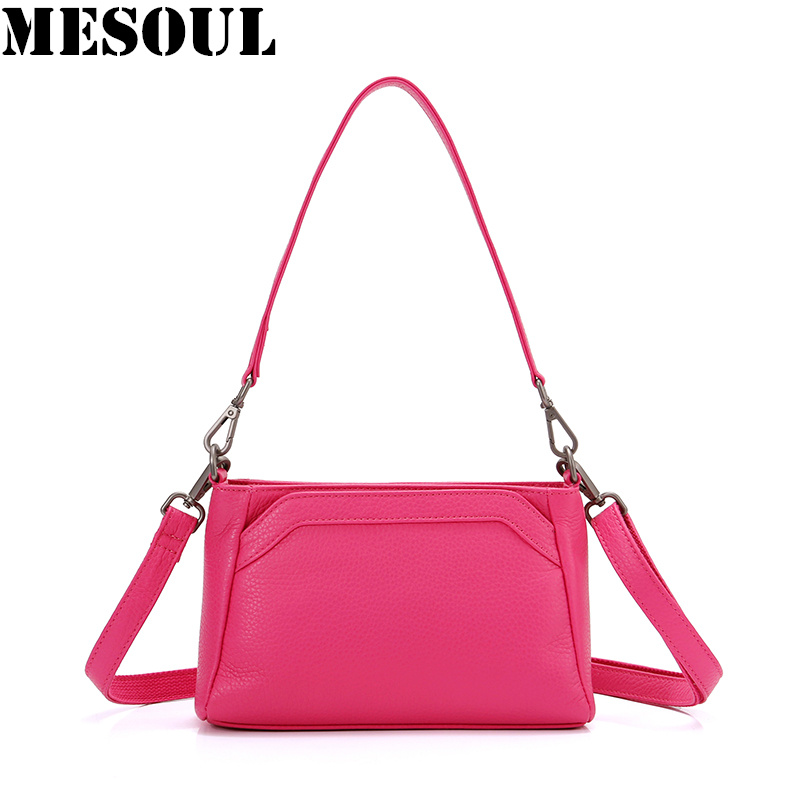 MESOUL Brand Summer Small Shoulder Bag For Women Messenger Bags Lady Genuine Leather Handbag Purse Fashion Female Crossbody BagMESOUL Brand Summer Small Shoulder Bag For Women Messenger Bags Lady Genuine Leather Handbag Purse Fashion Female Crossbody Bag