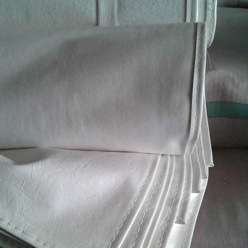 Grembiuli impermeabili a prova di Olio In Pelle Pu Nero Bianco Bavaglino Grembiule di Lavoro di Lavoro Indumenti di protezione Per Mense Ristoranti Da Cucina