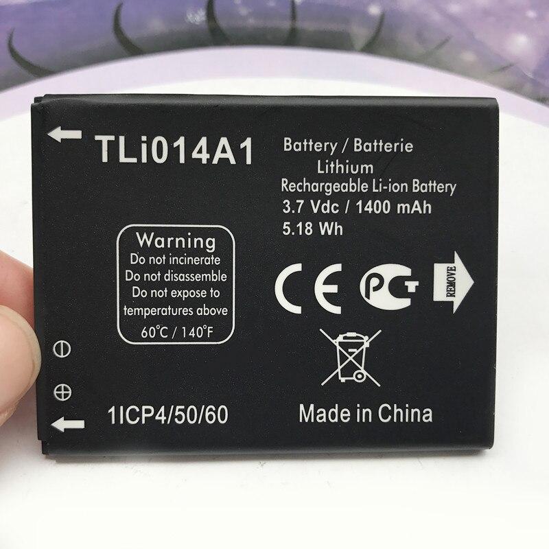 1400 mAh Remplacement TLi014A1 CAB31P0000C1 Batterie Pour Alcatel one touch 4033D 4032D POP C3 Pixi 4007D BY71 Smartphone Batterie