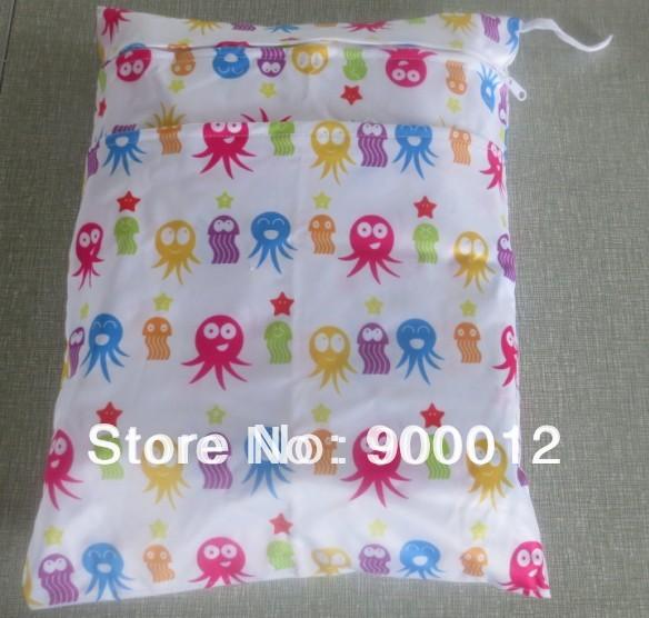 Nappy Wetbags-New Printed Färg Baby Återanvändning Blöderduk 2 - Blöjor och potträning