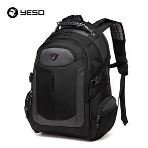 c140acf0e5d YESO Laptop Backpack Men s 2018 Rucksack Waterproof Black