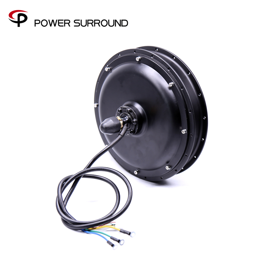 цена на 2018 Free shipping 48V1000w rear wheel hub motor for electric bike kit wheel motor