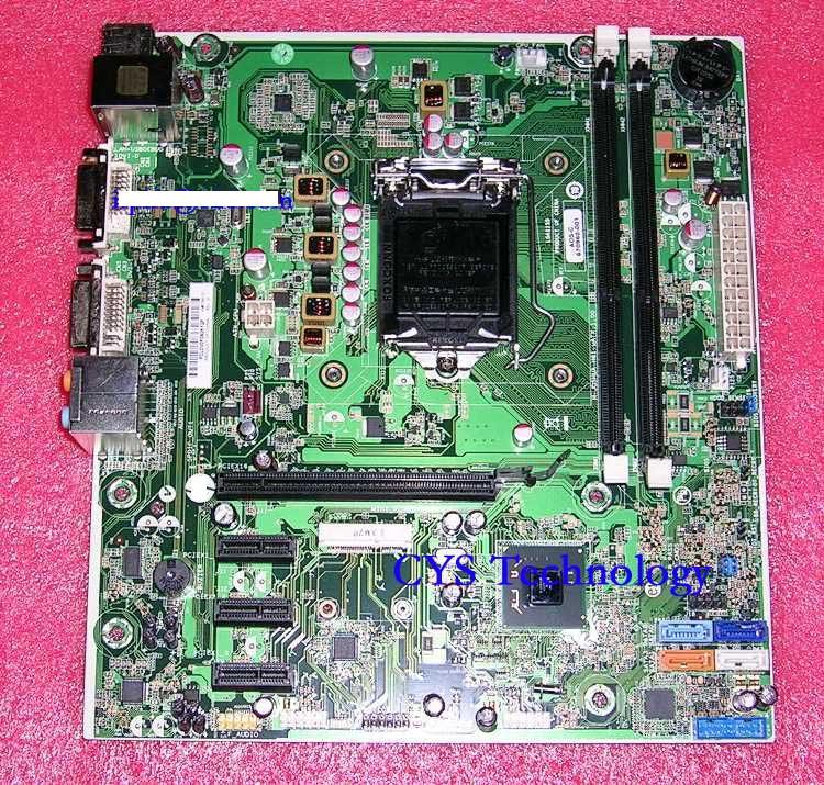 Prix pour Livraison gratuite pour origine H61 desktop Motherboard pour Joshua H-JOSHUA-H61-uATX 670960-001 Intel H61 LGA 1155 travail parfait