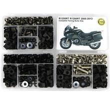 все цены на For BMW R1250RT R1200RT 2005-2013 Complete Fairing Kit Full Fairing Bolts Kit Screws Speed Nuts Clips Steel OEM