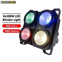 4*100 W 4 Eyes LED Blinder Light DMX COB audience blinder lights Professional Stage Lighting For Party Dance Floor