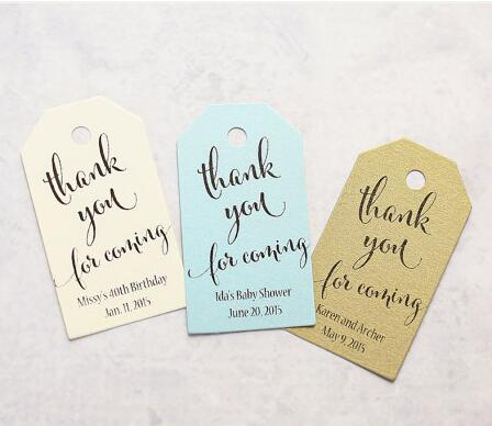 Personalized Thank You For Coming Wedding Welcome Gift Engagement