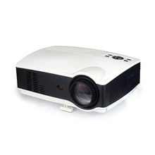 HOT Sv-328 Projector Business Home Wireless With Screen Led Projector 10800p High Definition Android version UK-White and Black