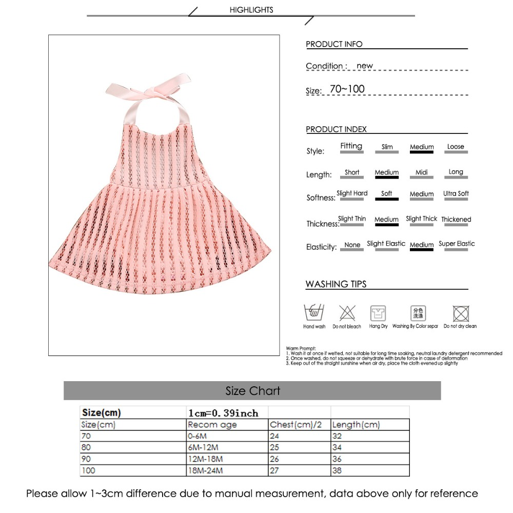 8ac9f360064 Puseky Newborn Toddler Infant Baby Girls Clothing Halter Romper ...