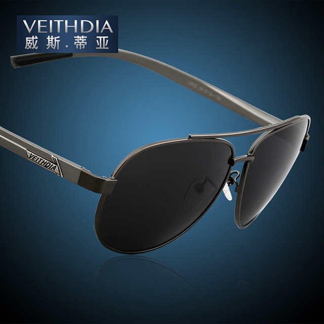 Luxury Brand Veithdia Classic Men's Polarized UV400 Sunglasses For Men Driving Car Sport Fishing Male Driver Coating Sun Glasses