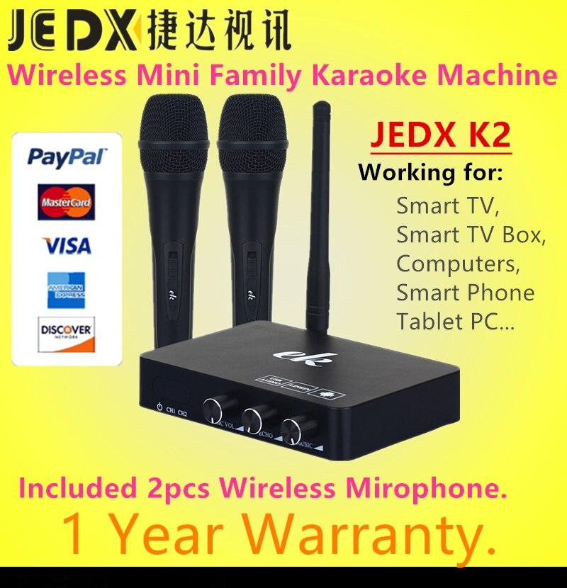 JEDX K2 Wireless Mini Family Home Karaoke Echo System Singing Machine Box Karaok