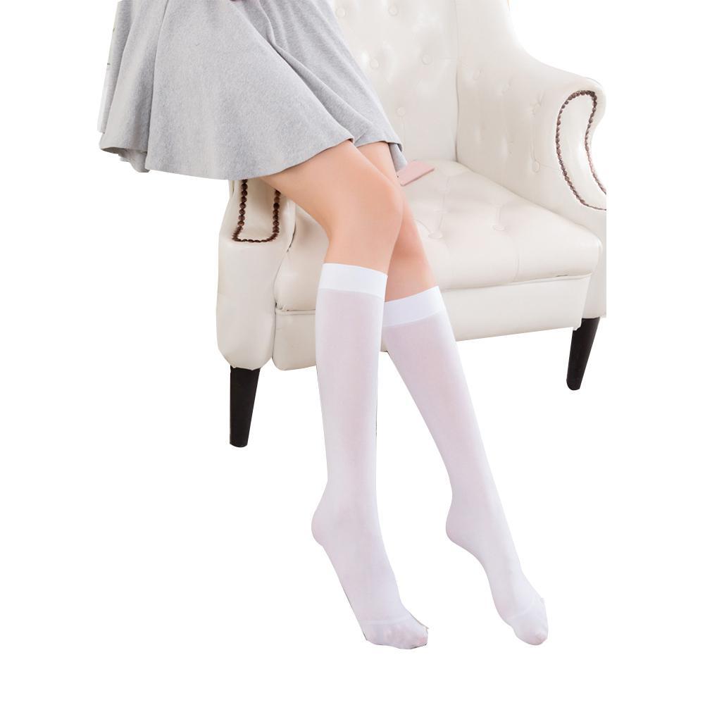 Yfashion Women Girls Fashion Stocking Stripes Non-slip Long Tube Knee Socks Stockings