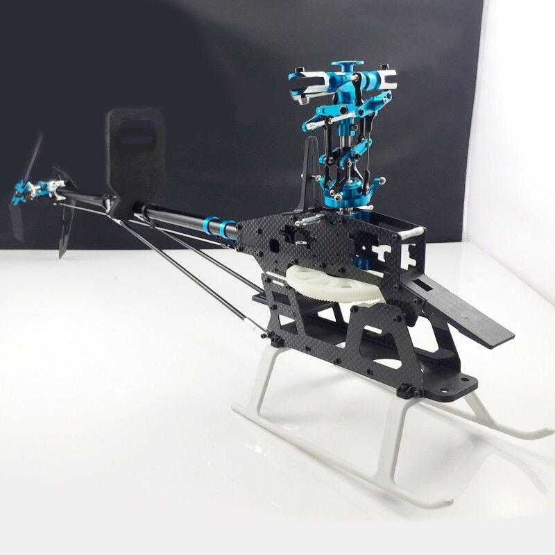 6CH 3D RC 450 V3 hélicoptère métal Upgread ensemble pour aligner Trex 450 hélicoptère