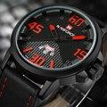 2016 Brand NAVIFORCE Watches men Casual Quartz Leather wrist watch Army Military reloj hombre men's clock relogio masculino