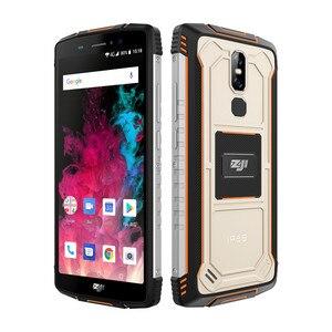 "Image 4 - ZJI ZOJI Z11 IP68 방수 방진 10000 mAh Smartphone 4 GB 64 GB Octa 코어 핸드폰 5.99 ""18:9 페이스 ID 4G 휴대 전화"