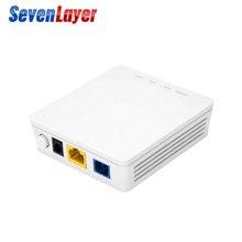 5 adet GPON ONU HG8310M 1GE ONU ONT tek Lan portu ile FTTH modları için geçerli Termina Gpon İngilizce sürüm 100% orijinal FTTB modem