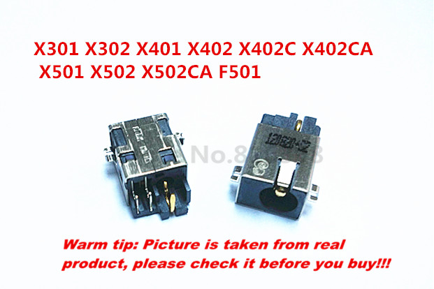 New DC Socket use FOR <font><b>ASUS</b></font> X301 <font><b>X302</b></font> X401 X402 X402C X402CA X501 X502 X502CA F501 DC-jack Power Connector 5pin 2.5mm image