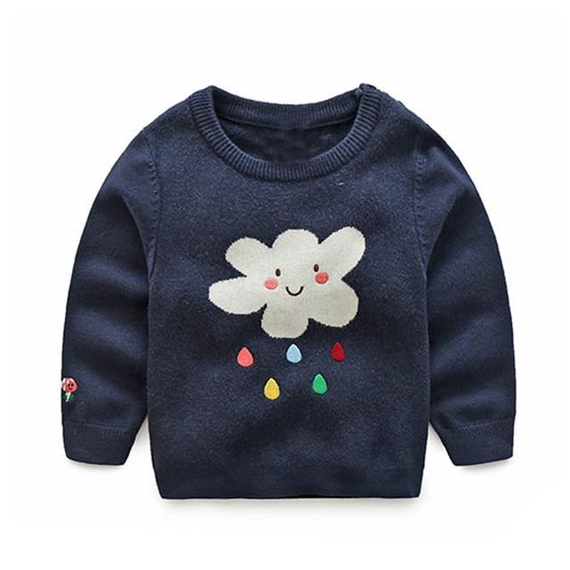 b084116b04e0 Children Choses 2017 Fashion Baby Boys Girls Knitted Sweaters ...