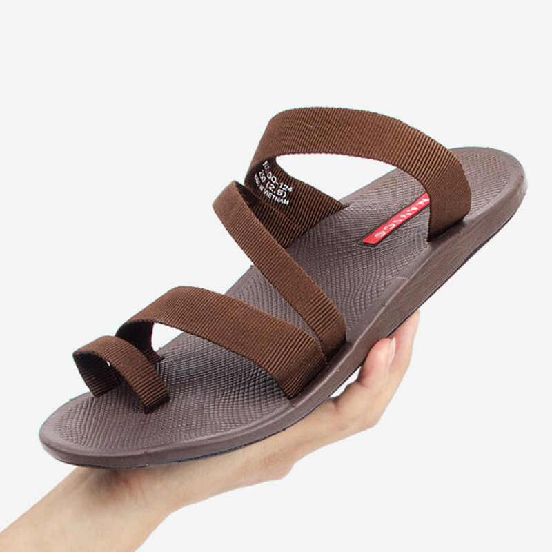 f9b947b32c17a8 ... 2018 summer men s sandals fashion man flip flop outdoor beach slippers  non-slip male casual